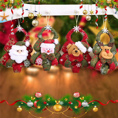 Christmas Santa Claus Cute Ornaments Festival Party Xmas Tree Hanging Decoration