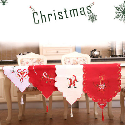 Christmas Table Cloth Xmas Holiday Wedding Party Tablecloth Banquet Decor