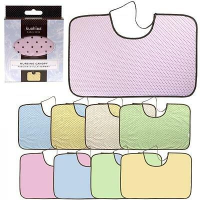 Kushies Nursing Canopy | 100% Cotton Flannel | For Bonding Discreetly with Baby