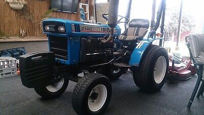 Iseki TX2140 Tractor and mower, dropped to $8000