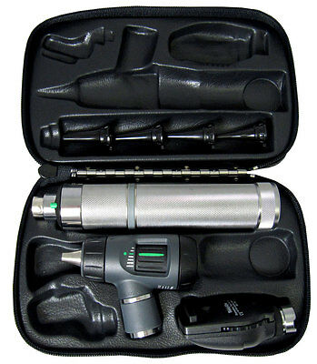 Welch Allyn 97250-MBI Diagnostic Set in Hard Case LED Bulb - FREE ENGRAVING
