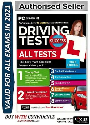 2017 Driving Theory Test All Tests & Hazard Perception PC DVD NEW atpc