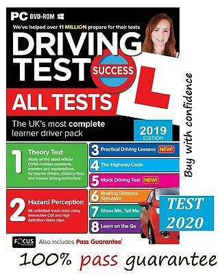Latest Driving Theory Test Success All Tests -Hazard Perception PC Rom 2019 atpc