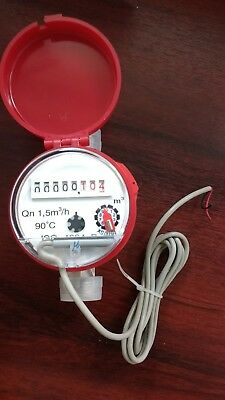 Water Meter Red Cover