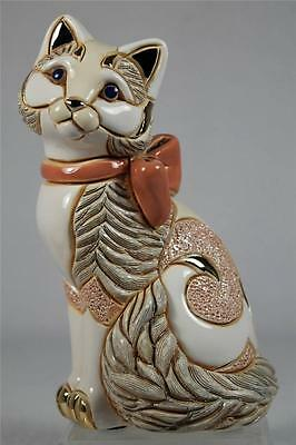 DeRosa Rinconada Family Collection NEW Adult 'Cat With Ribbon' #F172 New In Box