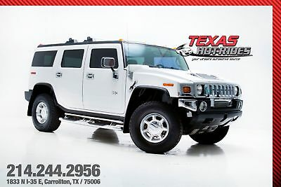 2004 Hummer H2 Base Sport Utility 4-Door 2004 Hummer H2 SUV Low miles! LOADED! 4 wheel drive! MUST SEE