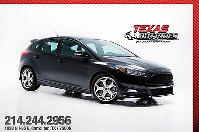 2016 Ford Focus ST 2016 Black Ford Focus ST Hatchback! ST1 Package, Very clean! MUST SEE