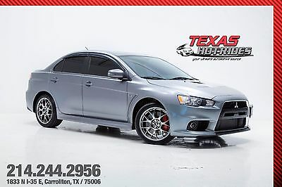 2015 Mitsubishi Evolution MR With Upgrades 2015 Lancer Evolution X MR With Upgrades! Evo! Turbocharged! Exhaust! MUST SEE