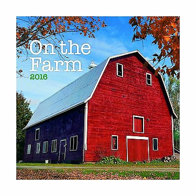 Turner On The Farm 2016 Wall Calendar (8940039)
