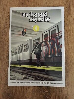 Unpleasant Magazine No.4 100% Steel Train Graffiti New Rare