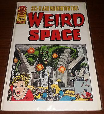 Weird Space #1, Single issue published by ACG in 2000