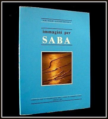 Immagini per SABA~1983 1st ed~An Epiphany of Life~Trieste Italy~#954 /1000copies