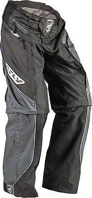 NEW FLY RACING PATROL BLACK ATV  MX BMX MTB RACING PANTS  size 28