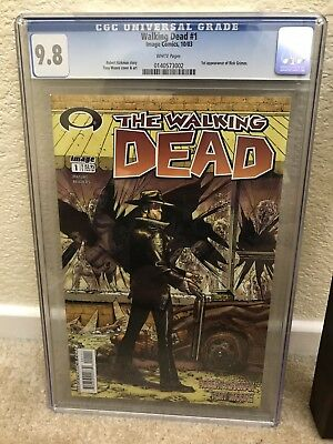 The Walking Dead # 1 CGC 9.8 NM/M 1st Print (10/03) 1st appearance Rick Grimes!