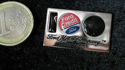 Ford Pin Badge 100 years Ford Credit 2D Firework
