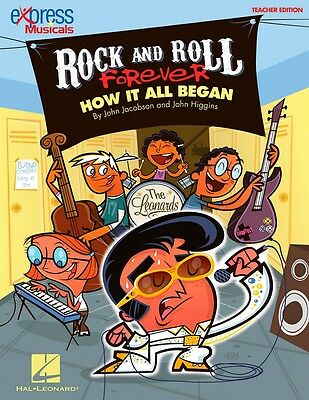 Hal Leonard Rock And Roll Forever How It All Began A 30-Min Musical Revue CR Kit