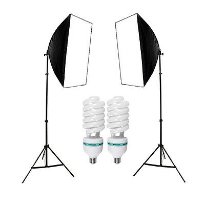 1350W Photo Studio Softbox Light Video Soft Box Continuous Lighting Stand Kit AU