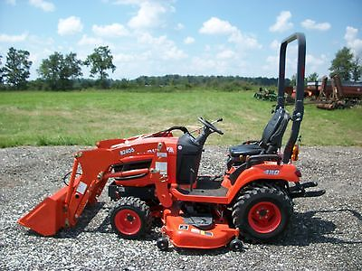 2014 Kubota BX2370 tractor w/ front loader, 4WD, 60in belly mower, hydro, 58hrs