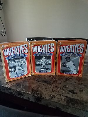 Wheaties Vintage Cereal Box Heritage Collection Babe Ruth Mays and Lou Gehrig