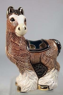 DeRosa Rinconada Family Figurine NEW 'Baby Clydesdale Horse' #F391 New In Box