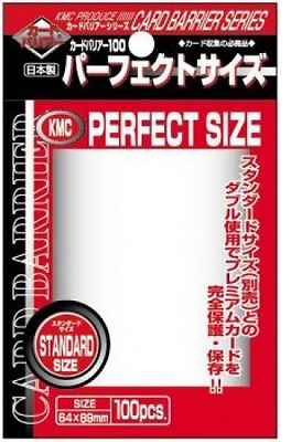 1.000 KMC Perfect Size Sleeves - 10 Packs - Standard Size 3 x 4 - 64 x 89 - Inne
