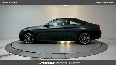 2018 BMW 4-Series 440i Coupe 440i Coupe 4 Series New 2 dr Gasoline 3.0L STRAIGHT 6 Cyl Mineral Gray Metallic