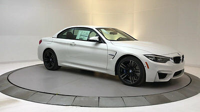 2018 BMW M4  New 2 dr Convertible Manual Gasoline 3.0L STRAIGHT 6 Cyl Alpine White