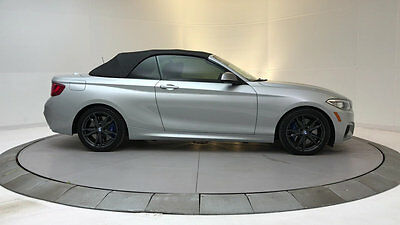 2016 BMW 2 Series M235i xDrive M235i xDrive 2 Series 2 dr Convertible Automatic Gasoline 3.0L STRAIGHT 6 Cyl Gl