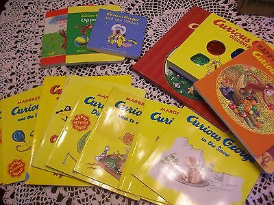 Lot of 14 CURIOUS GEORGE Children's Books