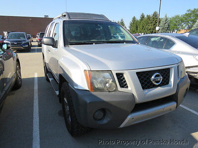 2009 Nissan Xterra 4WD 4dr Automatic S 4WD 4dr Automatic S SUV Automatic Gasoline V6 Cyl SILVER