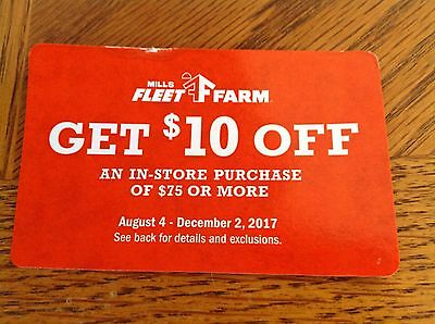 Fleet Farm 10 Off 75 Coupon