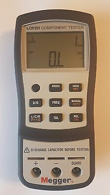Megger, Model LCR131 Meter 10mF, 10 MΩ, 1000h Handheld Type Electronic Component