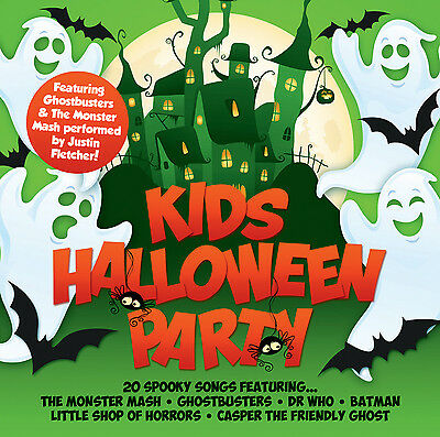 Various Artists : Kids Halloween Party CD (2015) ***NEW*** Fast and FREE P & P