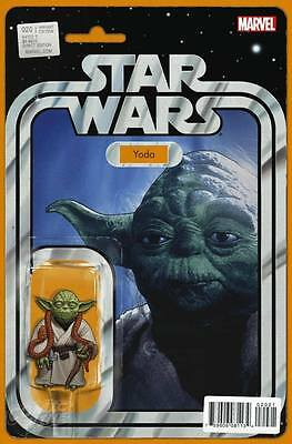 Star Wars #20 Yoda Action Figure Variant Limited Edition John Tyler Christopher