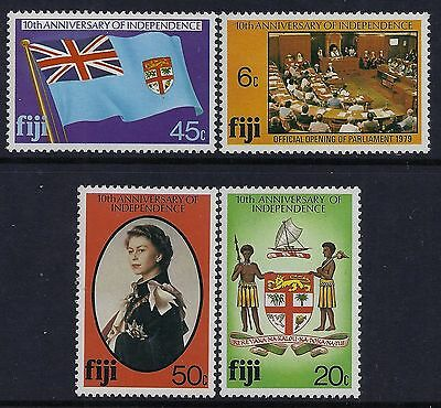 Fiji 1980 10th Anniv of Independence MNH