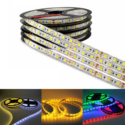 1M 2M 3M 4M 5M SMD 5050 Waterproof LED Flexible 3M Tape Strip Light DC12V