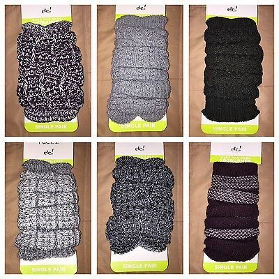 NWT Lot of 6 Pairs RUE 21 Leg Warmers Legwarmers - Combined Retail $58