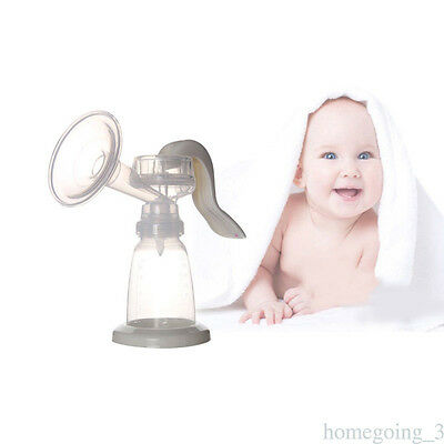 Practical Baby Breast Pump Powerful Manual Hospital-Grade Milking Machine +Brush