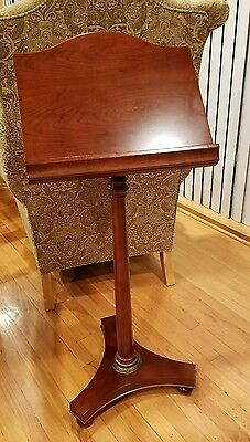 The Bombay Company Empire Book Music Stand Lectern Podium Pedestal Base