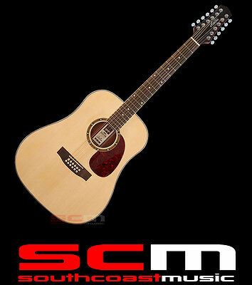 Ashton D25 12 Mkii 12 String Acoustic Guitar Spruce Top Sapele Back & Sides New