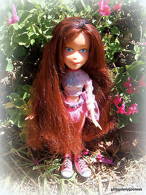 ADORABLE OOAK REPAINTED BRATZ doll  Excellent used condition.