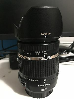 Tamron AF 18-270mm f/3.5-6.3 Di-II PZD VC Lens for Canon