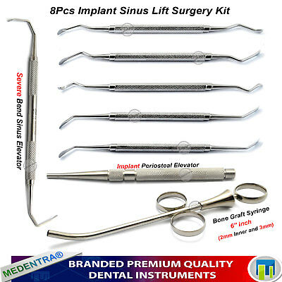 Implant Sinus Lift Instruments Periosteal Elevators Graft Syringe PERIODONTOLOGY