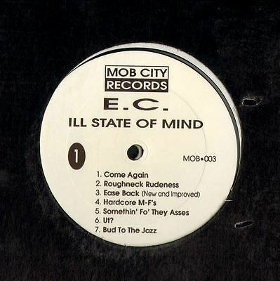 E.C. ill state of mind (original usa limited edition & free 8 track ep) LP EX/