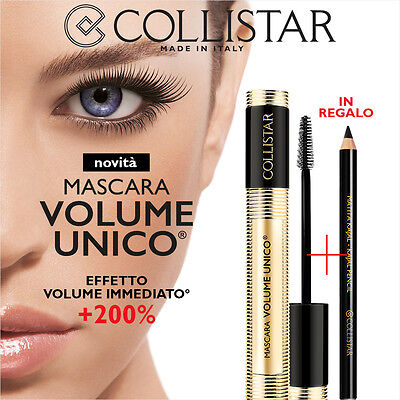 Collistar kit Mascara make up + Matita kajal kôl NERO in regalo ~ omaggio