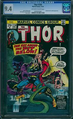Thor # 230  The Sky Above--the Pit Below !  CGC 9.4 scarce book !