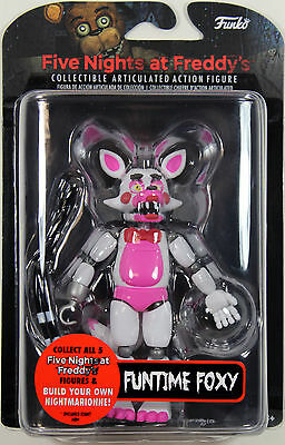 "Five Nights at Freddy's ~ 5"" FUNTIME FOXY ACTION FIGURE ~ Funko FNAF"