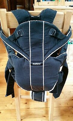 Baby Bjorn Miracle Carrier. Good condition. With Back Support