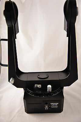 """Meade LX10 8"""" SCT Bare Fork & Hand Controls Box"""