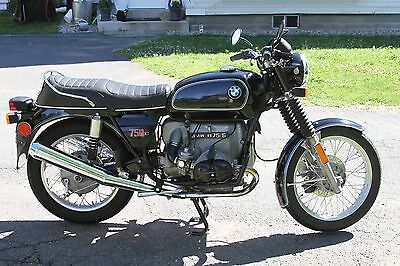 1976 BMW R-Series  Classic 1976 BMW R75/6 motorcycle - low miles, excellent shape